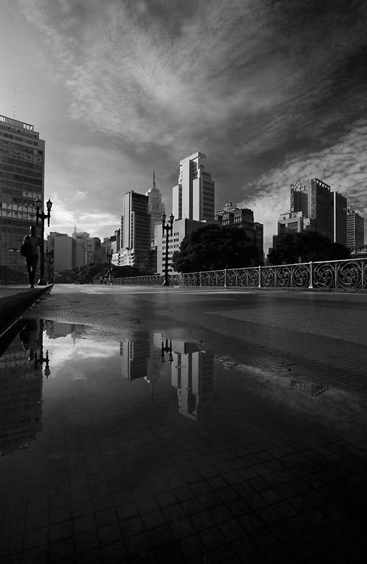 Santa Ifigenia Viaduct, Sao Paulo, Brazil