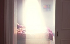 Luz protagoniza ensaio fotográfico