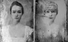 Autorretratos mostram como jovem seria em diferentes épocas