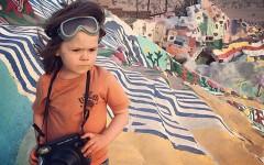 Filho de fotógrafo da NATGEO faz sucesso na Internet