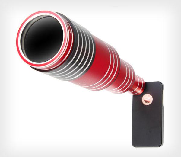 A lente para smartphone promete absurdos 80x de zoom.