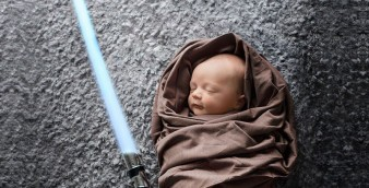 Bebê Jedi, de Star Wars. | Foto: Staci Noel