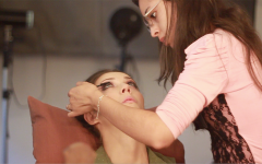 A maquiagem em ensaio boudoir