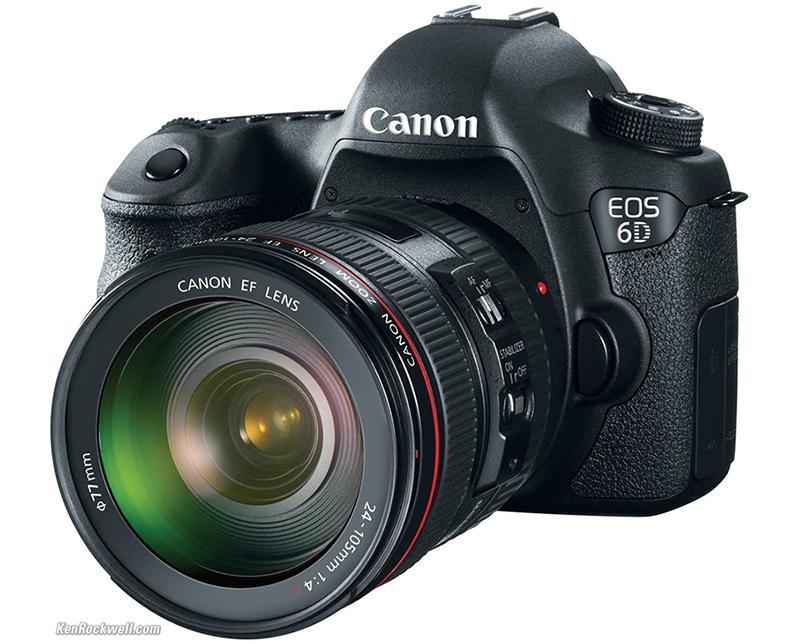 A Canon EOS 6D ficou em primeiro lugar no ranking.