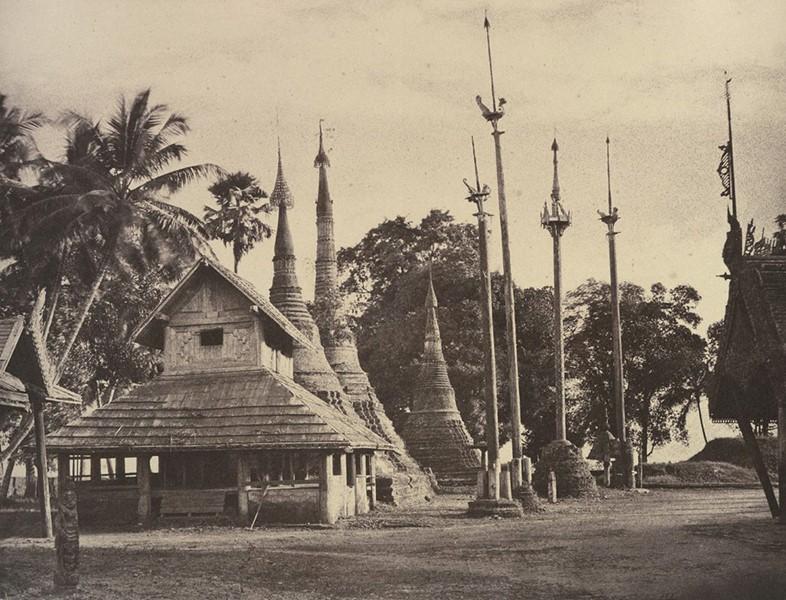 Em Rangum, hoje Mianmar. | Foto: Linnaeus Tripe