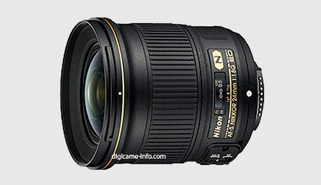 A nova lente 24mm.