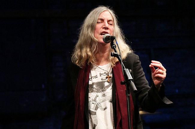 A cantora americana e lenda do punk rock Patti Smith | Foto: Taylor Hill/Getty Images