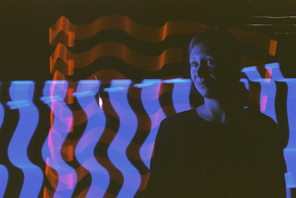 Light-painting com o filme