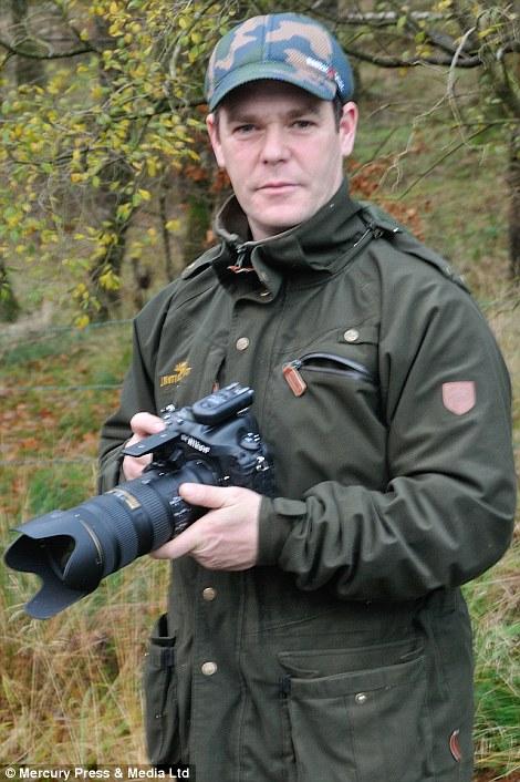 O fotógrafo Alan McFadyen