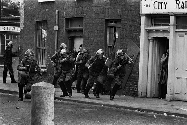 Irlanda em 1971   Foto: Don McCullin/PA