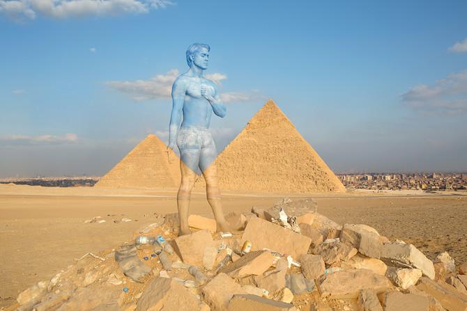 Piramides de Gizé  | Foto:  Trina Merry
