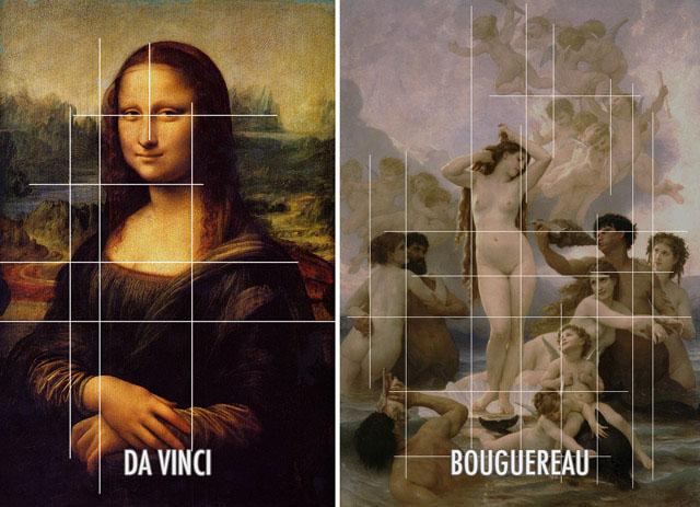 Da Vinci e Bouguereau