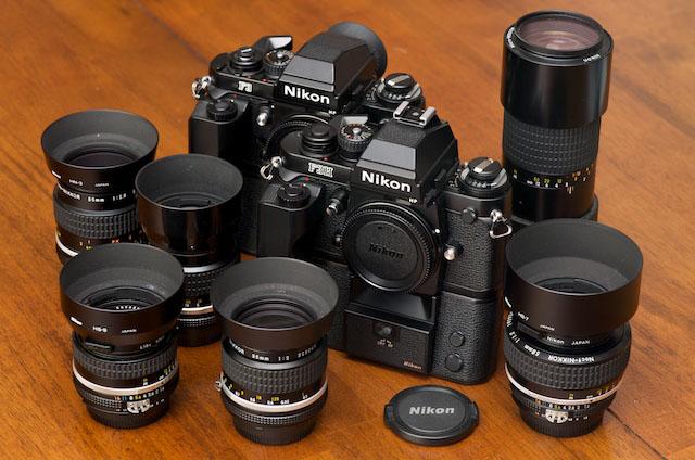 As câmeras Nikon F3 e Nikon F3H | Foto: tarosworld