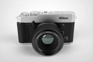 Arte-conceito das câmeras mirrorless Nikon