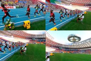 Prova masculina de 10.000m no 14º IAAF World Athletics Championships | Foto: Cameron Spencer/Getty Images