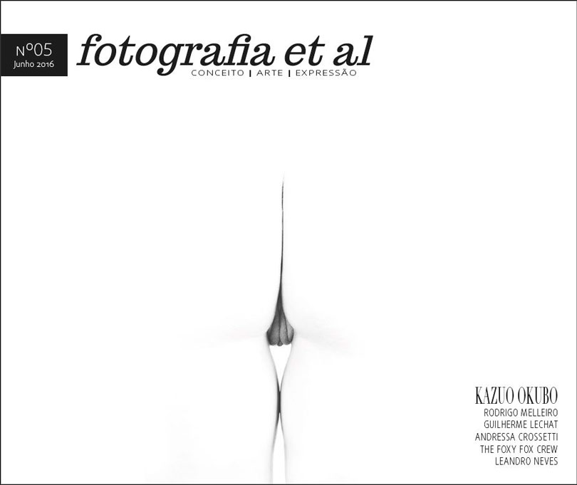 A capa com a foto de Kazuo Okubo