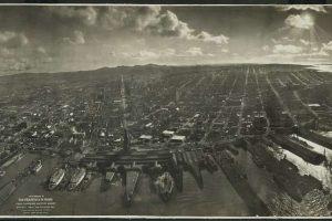 """San Francisco in Ruins"", de George R. Lawrence"