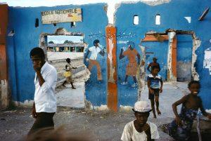 HAITI. Cite Soleil. 1986.