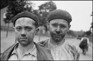 North of France. Young miners.