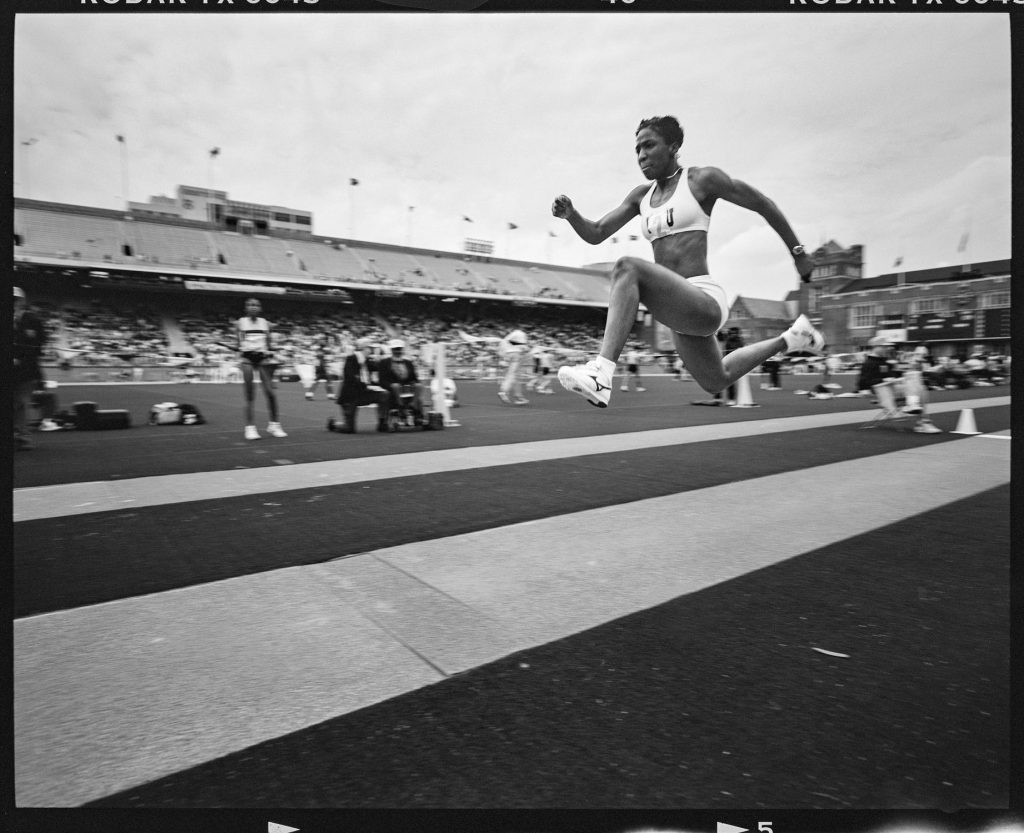 Triple Jump, Women, Philadelphia, Pennsylvania, April 1996