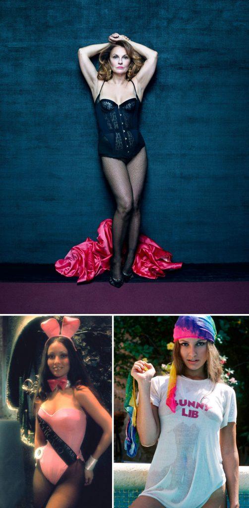 Laura Aldridge, de 59 anos, coelhinha da Playboy em fevereiro de 1976, hoje estilista e decoradora