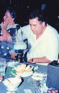 Essa é a foto preferida de Edgar Jimenez. Durante o aniversário de seu filho Juan Pablo, em 1989.