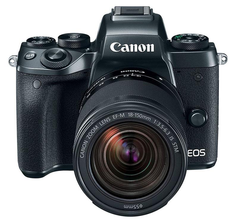 A câmera mirrorless Canon M5, com sensor APS-C