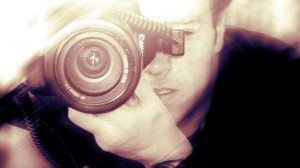 O fotógrafo Max Lopes