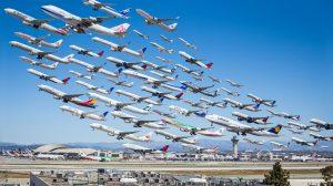 A foto de Mike Kelley no aeroporto de Los Angeles que se tornou viral