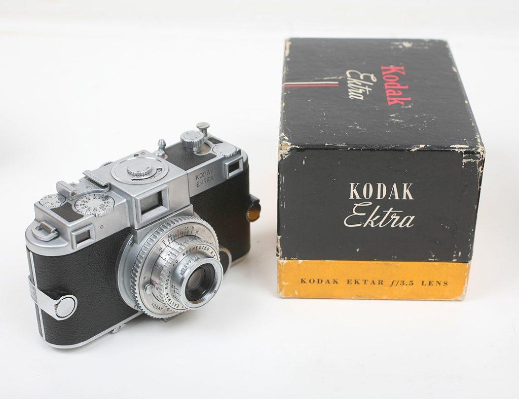 A câmera Kodak Ektra original