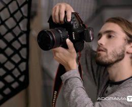 O fotógrafo Andrew Kearns no reality show Top Photographer