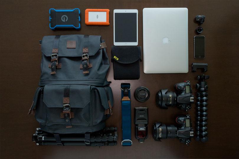 O Kit que uso para fotografar: Nikon D810 + ObjetivaAF-S NIKKOR16-35mm f/4G ED VR e a Nikon D810 +ObjetivaAF-S24-120mm f/4G ED VR