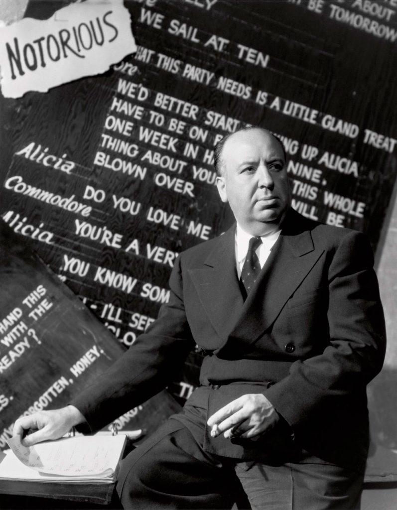 Alfred Hitchcock por Ernest Bachrach