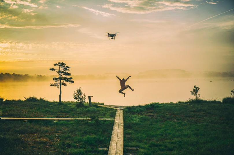 Primeiro lugar na categoria Drones em uso | Foto: Roman Neimann