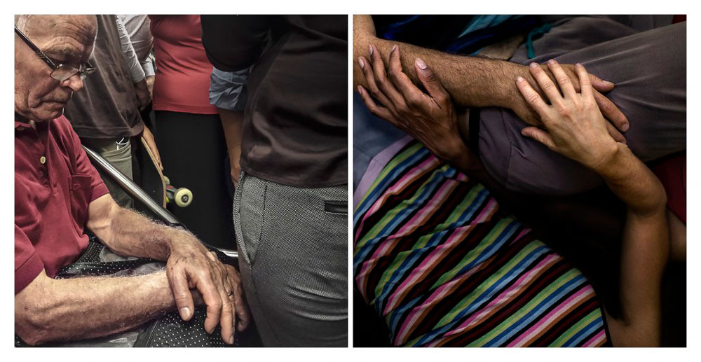 """Fotografia de Inês Pereira Coelho Bonduki, 3º lugar do 14º Prêmio FCW de Arte (Fotografia) com a série """"Linha Vermelha"""""""