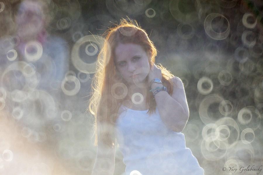 O bokeh criado pela lente Rokinon 800mm que é uma objetiva de espelho | Foto: urixblog