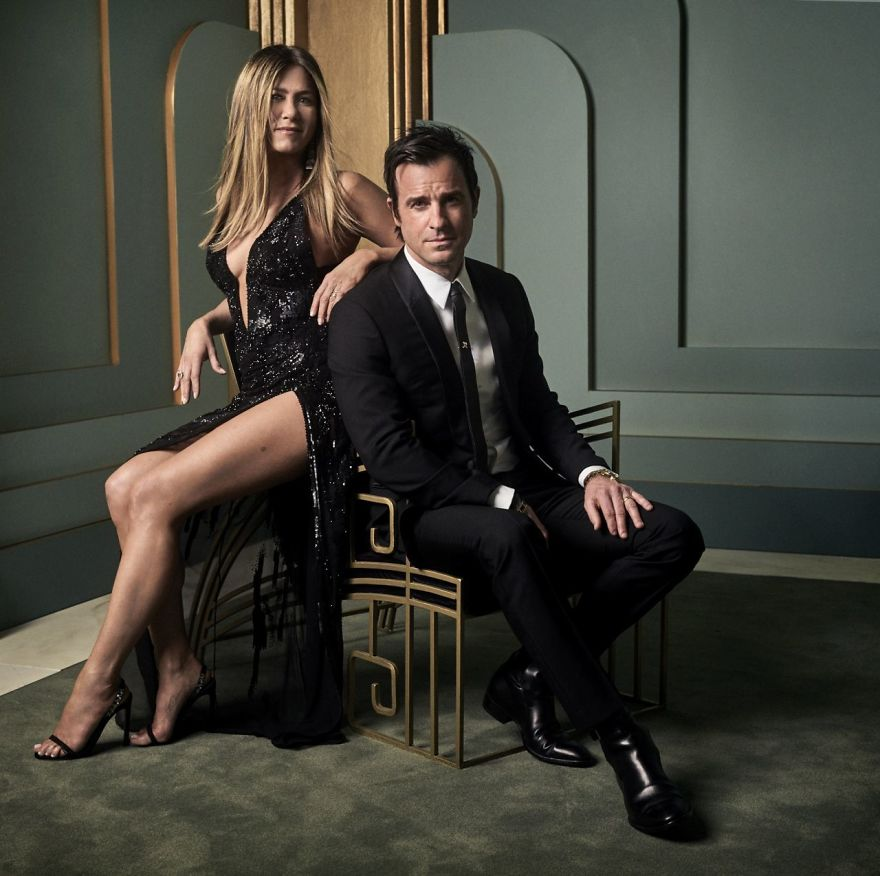 Jennifer Aniston e Justin Theroux | Foto: Mark Seliger