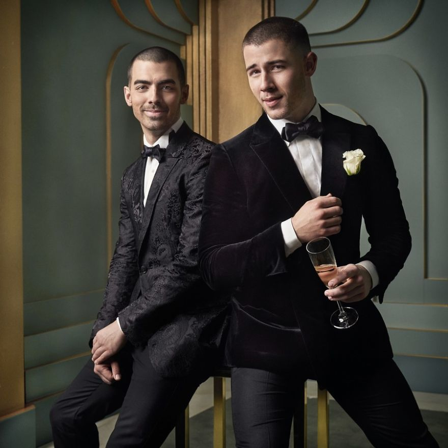 Joe e Nick Jonas | Foto: Mark Seliger