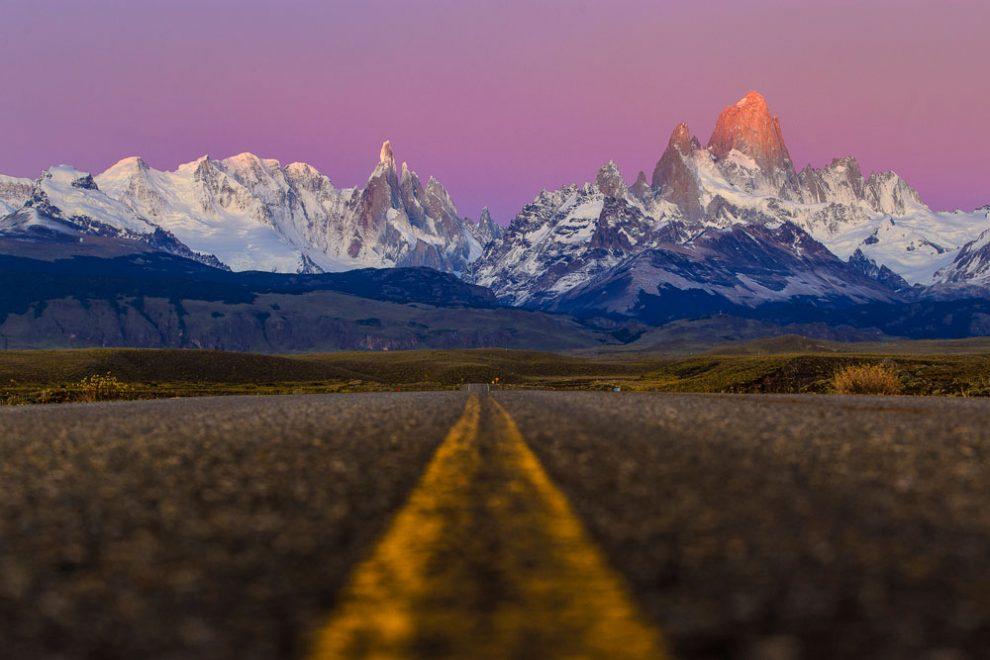 Nas estradas patagônicas, El Chalten - Argentina   Foto: Edson Vandeira