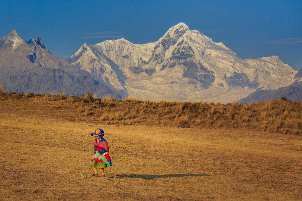 Camponesa Andina - Peru   Foto: Edson Vandeira