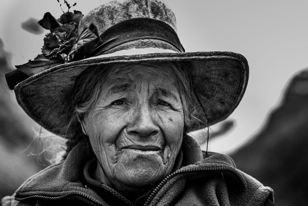 Retrato andino. Cordillera, Huayhuash - Peru   Foto: Edson Vandeira