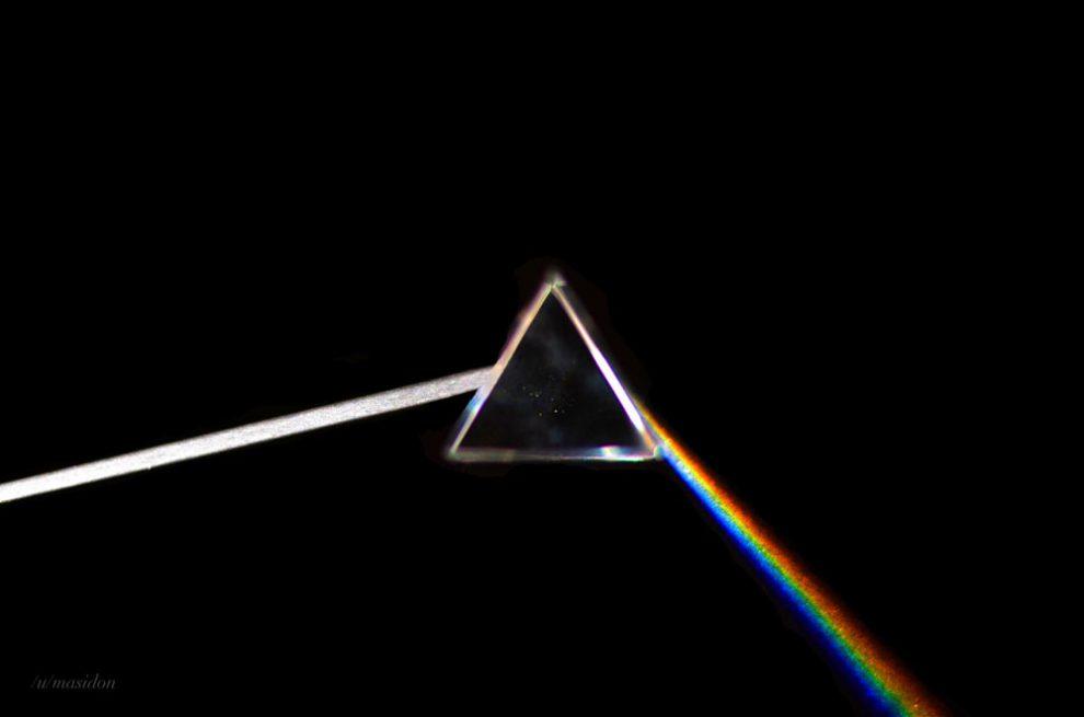 A foto de Mason Maxwell que recriou a capa do Pink Floyd