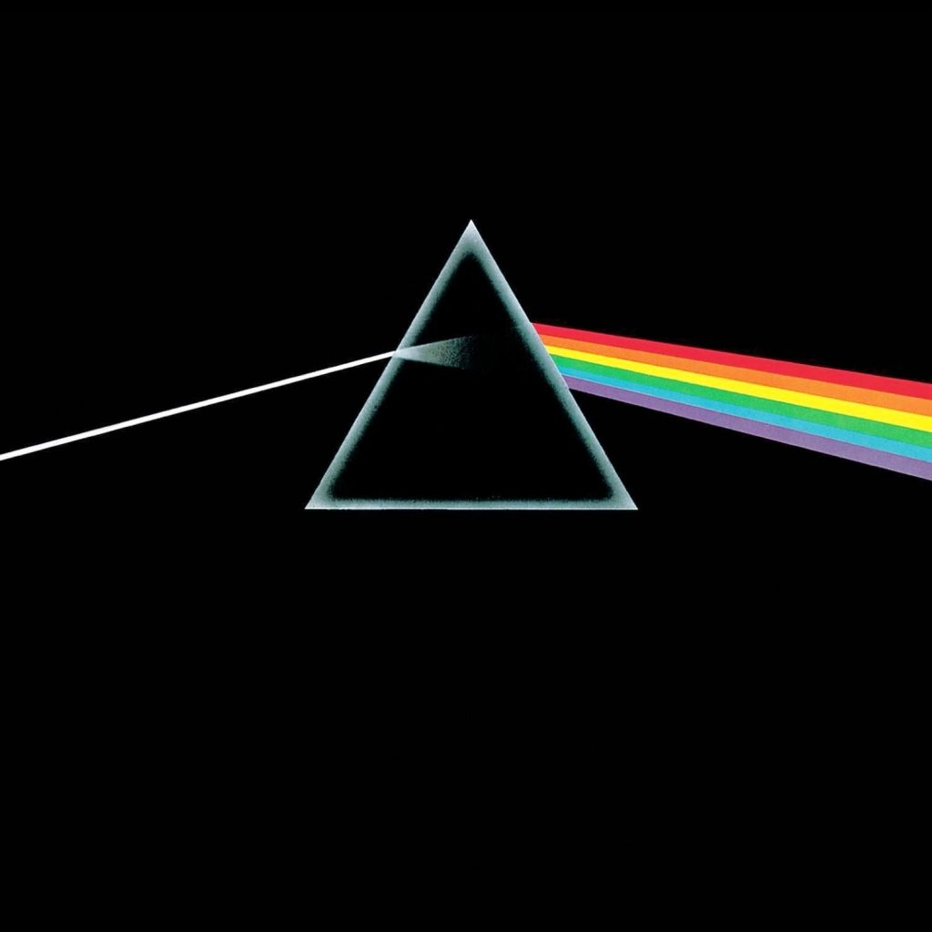 "A capa original do disco ""Dark Side of The Moon"", do Pink Floyd"