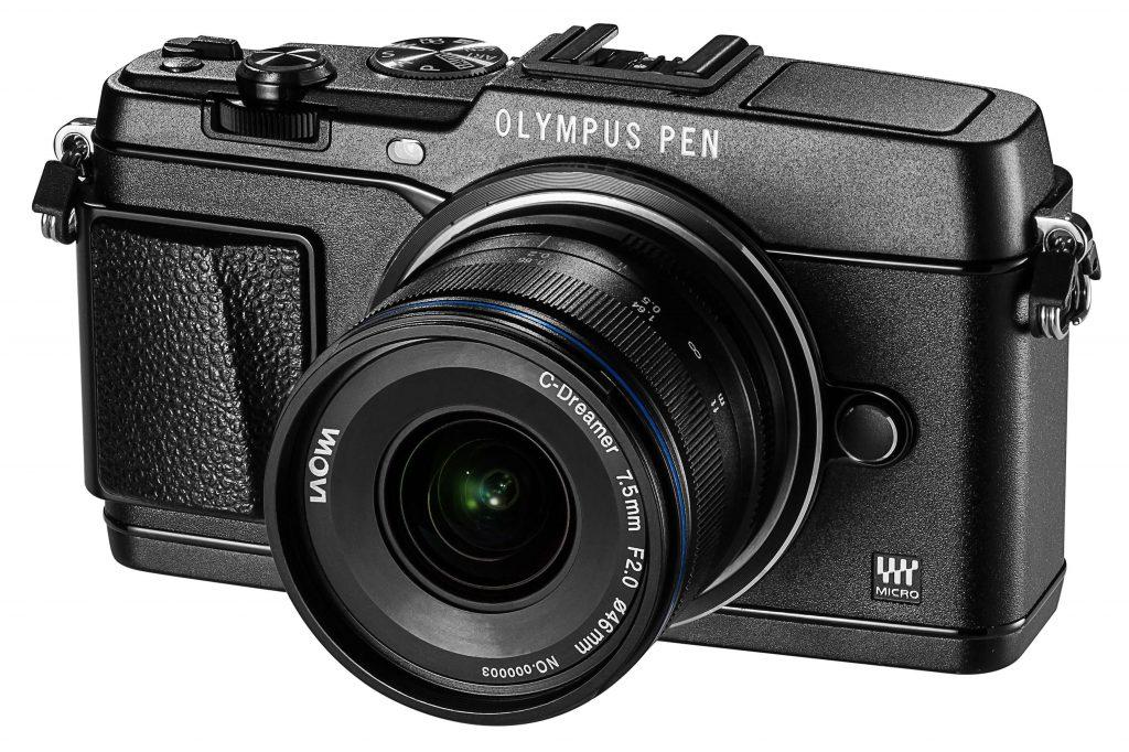 A lente Laowa 7.5mm f/2 em uma Olympus Pen
