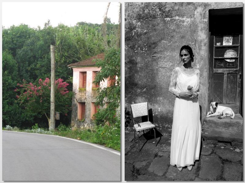Casa deteriorada por Thi Martini e e direção de Vanilson Coimbra
