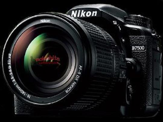 """Imagem """"vazada"""" da nova Nikon D7500 pelo blog Nokishita"""