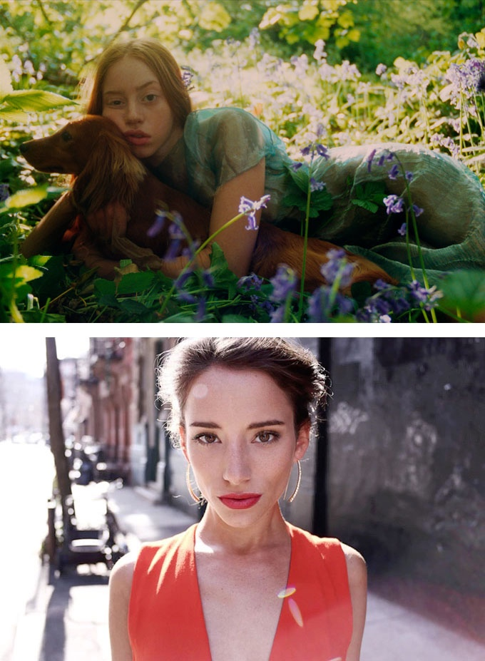 Eleanor Hardwick, Londres – 35mm (acima) e Jonathan Taylor, Nova York – 35mm (abaixo)