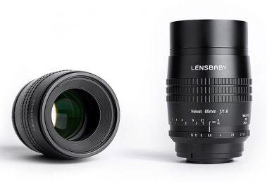 Lensbaby anuncia lente 85mm f/1.8 para câmeras DSLR e mirrorless