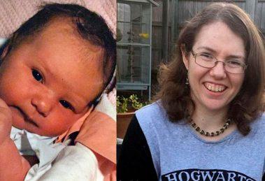 Mulher lembra como foi fotografada quando tinha só 12 dias de vida