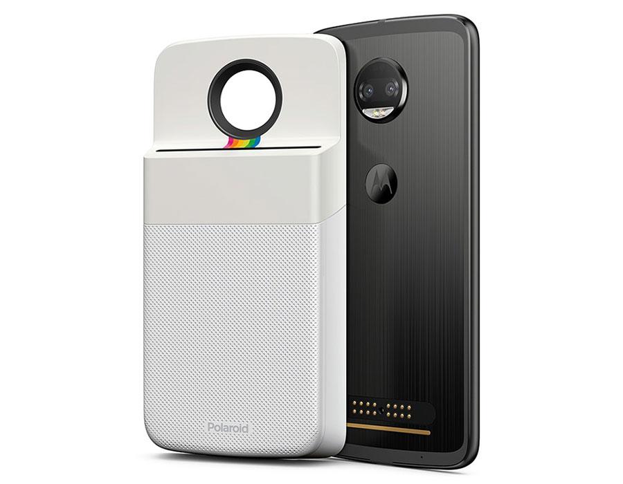 O Insta-Share Moto Mod tem o clássico design Polaroid e permite aos  usuários adicionar personalizações para imagens antes da impressão,  incluindo bordas e ... 50547f6e2d